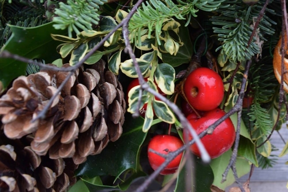 Ethical Christmas: natural wreaths