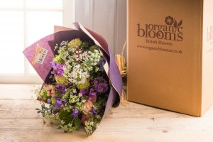 soil association certified organic cut flowers delivered