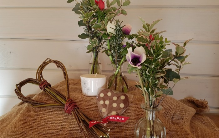Valentine's day pretty posies