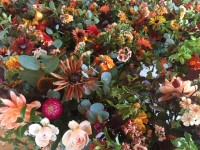 Buying Social: a sea of table decorations for PwC