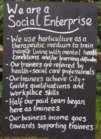 Buying Social: we are a Social Enterprise